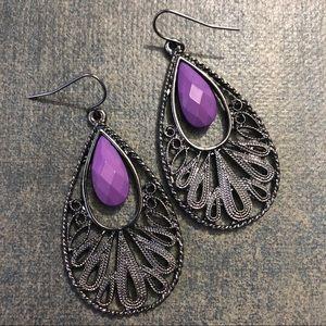 Purple Gunmetal 🌸2/$10 Earrings